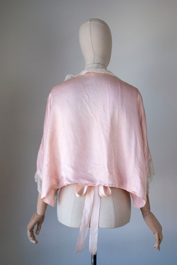 1930's Silk Chiffon Twin Set