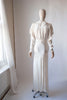 1930's Ruched Bodice Bridal Dress
