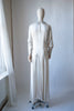1930's Rayon Satin Bridal Dress
