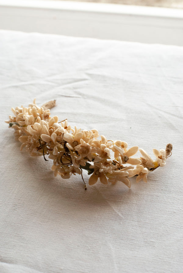 1930's Wax Flower Bridal Tiara