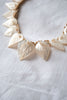 1930's Pearl Leaf Necklace