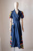 1940's Taffeta House Dress