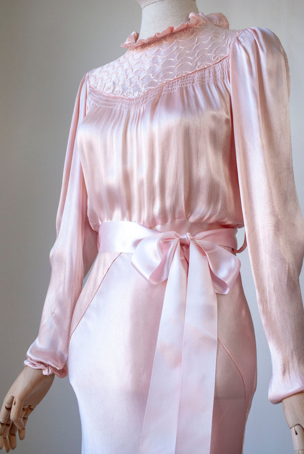 1930's Rayon Nightgown