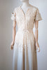 1930's Fluted Sleeve Dress