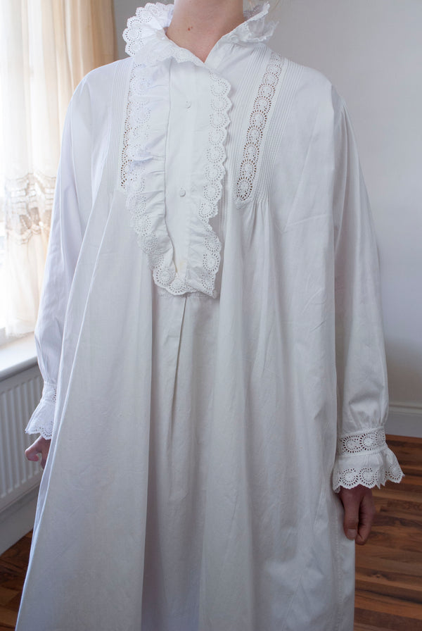 1900's Cotton Gown
