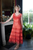 1930's Taffeta and Net Dress