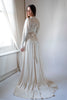 1940's Crepe Satin Bridal Gown