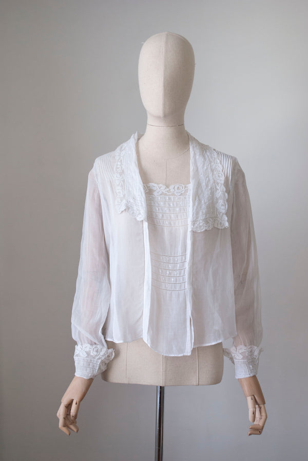 1900's Lawn Cotton Blouse