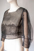 1900's Lace and Tulle Blouse