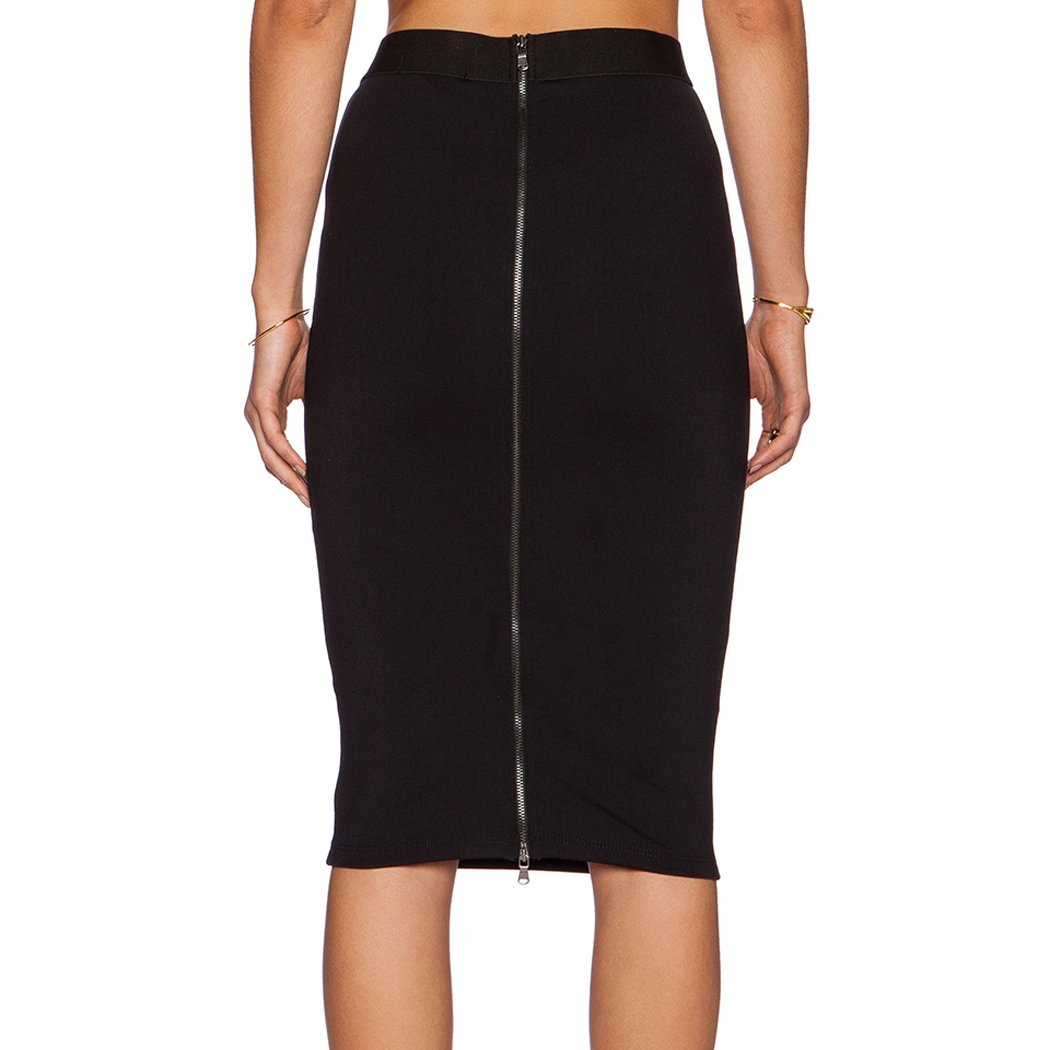 Skirts Womens Summer 2017 OL Slim Fitted High Waist Skirt Kneemodkily-modkily