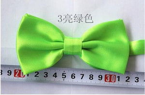 2017 New Hot Solid Bow Tie Mens Butterfly Cravat Bowtie Male Solidmodkily-modkily
