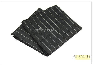 High Quality Cotton Mens Pocket Square Adult Plaid Hankerchief Scarves Vintage Hankiesmodkily-modkily