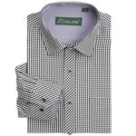 Brand New Plaid Mens Shirt Long Sleeve Dress Shirts Casual Business formalmodkily-modkily