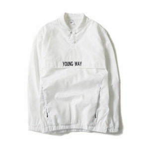 New reflective windbreaker Bomber Jacket Men Autumn Tide Brand off white Jacketmodkily-modkily