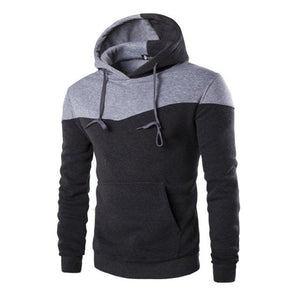 Mens Slim Pullover Hoodie Warm Hooded Sweatshirt Coat Jacket Outwearmodkily-modkily