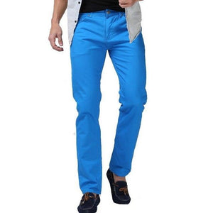 2016 New Men Candy Color Pants Fashion Casual Brand Pantsmodkily-modkily