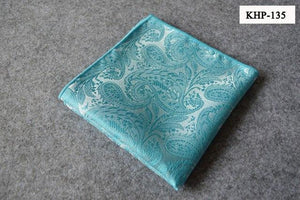 Fashion Silk Pocket Squares Men Paisley Square Pocket Handkerchief Silk Paisleymodkily-modkily