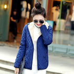 Hooded Fleece Women Winter Jacket 2017 New Arrival Casual Warm Long Sleevemodkily-modkily