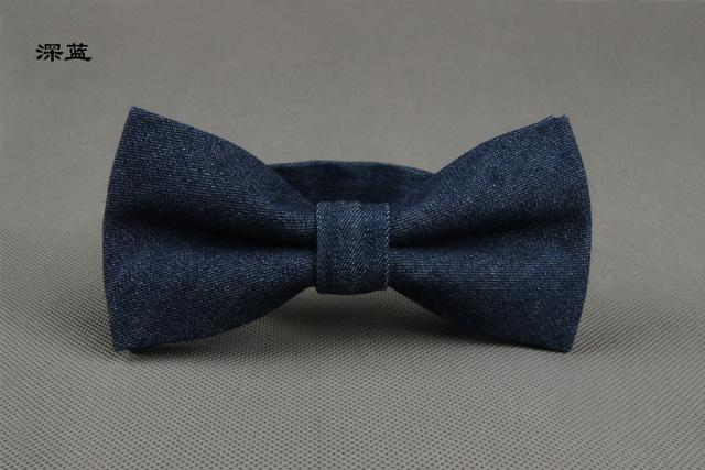 Fashion Solid Men's Bowtie Brand Cotton Floral Bowties Classic Business Suitsmodkily-modkily