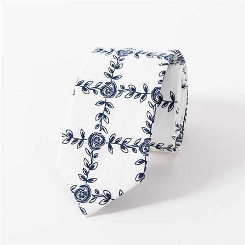 Formal Business Suit Men's Tie Cravats Brand Accessories Popular Cotton Tiesmodkily-modkily