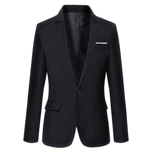 Hot Sale New Arrival Fashion Blazer Mens Casual Jacket Solid Color Cottonmodkily-modkily
