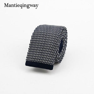 New Knitted Ties for Men Business Casual Skinny Ties Polka Dotsmodkily-modkily