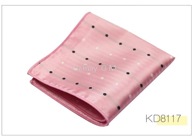 Popular Striped Dot Men Handkerchiefs Brand Classic Polyester Pocket Square Hanky Fashionmodkily-modkily
