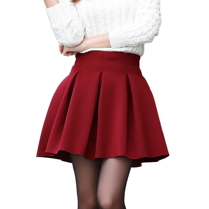 Fashion Sexy Women Skirt Fall Witer Warm Short Skirt Plus Size Highmodkily-modkily