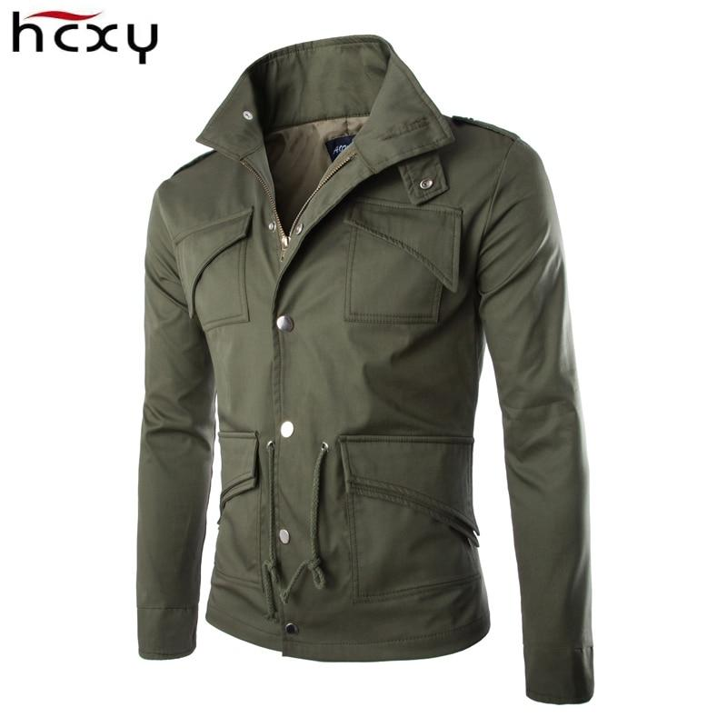 2016 high-quality cotton military jacket British trade temperament Slim large sizemodkily-modkily