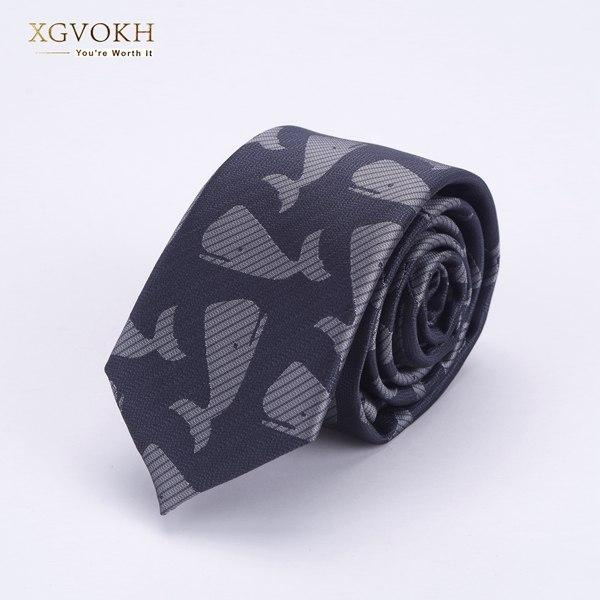 Men ties necktie Men's business wedding tie Male gift gravata Whale patternmodkily-modkily