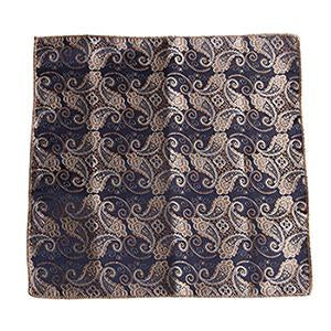 Chic Men Satin Solid Floral Pocket Square Plain Handkerchief Formal Suitsmodkily-modkily