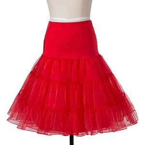 12 colors white Lady Girls skirts tulle Underskirt Rockabilly Dance Petticoat Crinolinemodkily-modkily