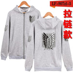 Japan Anime Attack On Titan Hoodies Sweatshirts Coat Halloween Party Eren Hoodiesmodkily-modkily