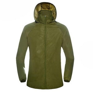 2017 New Mens Women Casual Jackets Windproof Ultra-light Jacket Men Army Windbreakermodkily-modkily