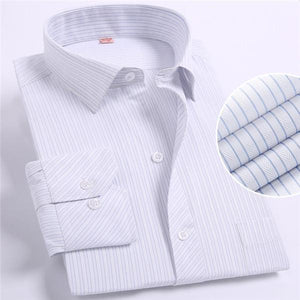 Spring New 2017 Striped Men Dress Shirt Comfortable Cotton Leisure Styles Fashionmodkily-modkily
