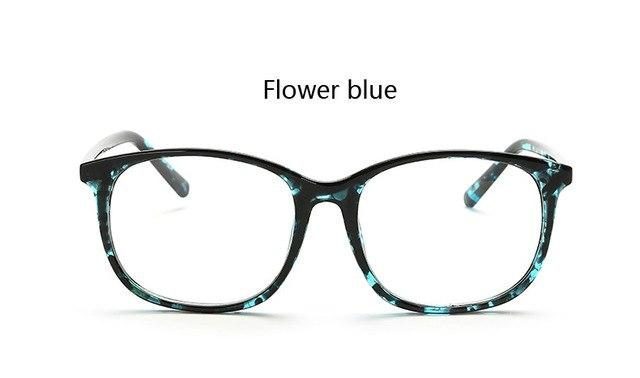 New Fashion Plain Mirror Glasses for Women Men Safety Explosion Proofmodkily-modkily