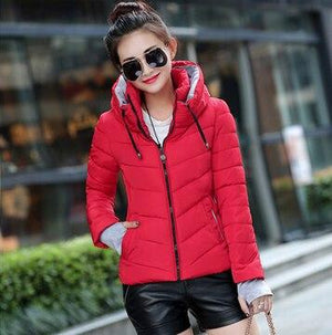 New Arrival Ladies Fashion Coat Winter Jacket Outerwear Short Wadded Jacketmodkily-modkily