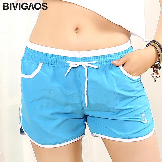 New Womens Summer Shorts Quick-Drying Casual Loose Drawstring Short Light Colormodkily-modkily