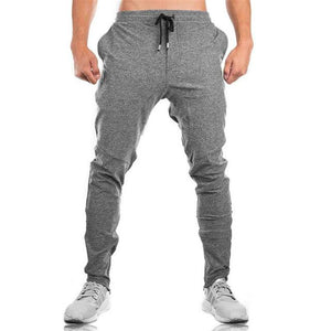 Pants Casual Sweatpants Solid Fashion high street Trousers Pants Men Joggersmodkily-modkily