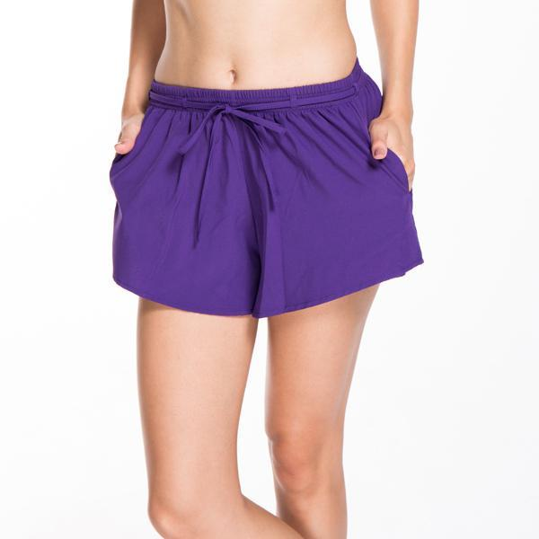Summer New 7 Colors Women Fitness Shorts Workout Elastic Waist Sporting Shortsmodkily-modkily