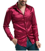 New Arrival Custom Made Any Colors Elastic Silk like Satin Men Weddingmodkily-modkily