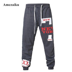 2017 new men's casual pants cotton performance fashion fitness workout pants casualmodkily-modkily