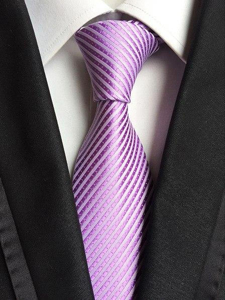 8 cm Plain Ties For Men Solid Color Necktie Striped Neckmodkily-modkily