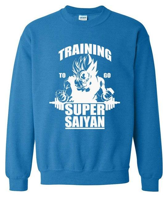 Sweatshirt men Super Saiyan 2017 spring winter hoodies Dragon Ball fashion coolmodkily-modkily