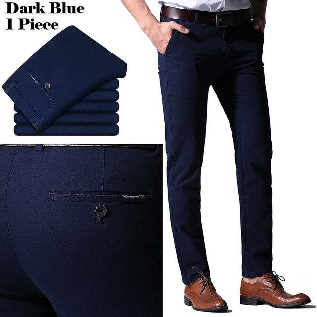 100% Cotton New Men Summer Pants 2017 Slim Straight Men Casualmodkily-modkily