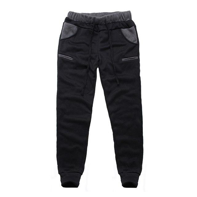 Winter Autumn Velvet Sweatpants Mens Track Pants Hip Hop Casual Baggy Joggermodkily-modkily