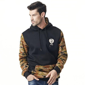 Hoodies Men 2017 Brand Male Long Sleeve Hoodie Camouflage Sweatshirt Mensmodkily-modkily
