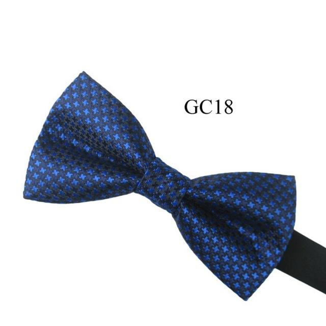 Men\'s Vintage Pre Tied Knit Bow Tie Clip On Jacquard Woven Necktiemodkily-modkily
