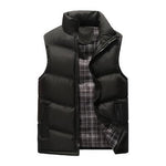 Winter Vest Men Brand Vest Autumn Male Outwear Cotton-Padded Waistcoat Sleevelessmodkily-modkily