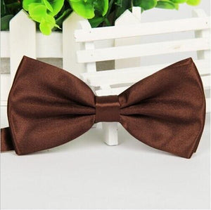 Formal commercial bow tie male Solid color marriage bow ties for menmodkily-modkily
